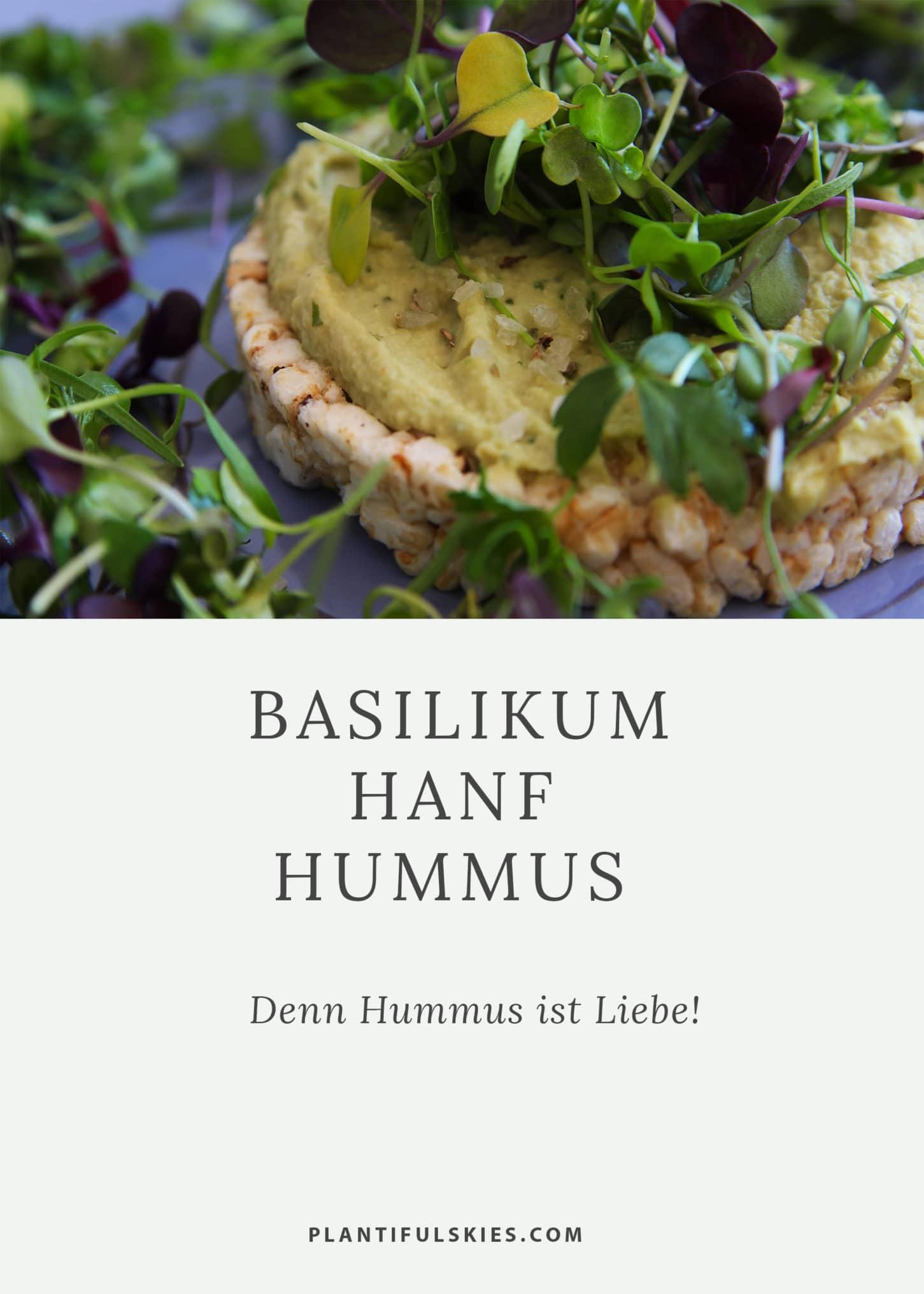 Basilikum hanf Hummes