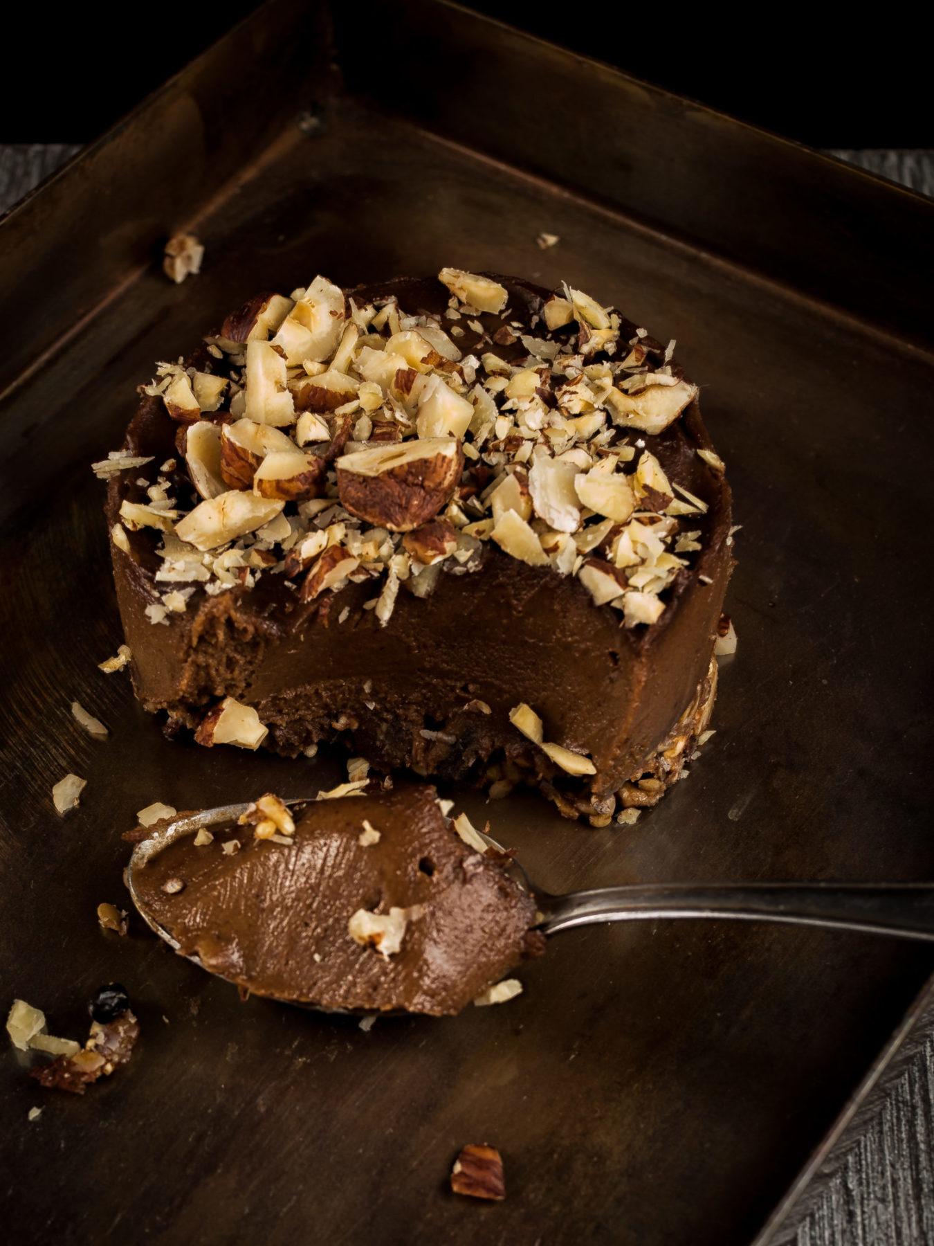 Rohe Nutella Törtchen