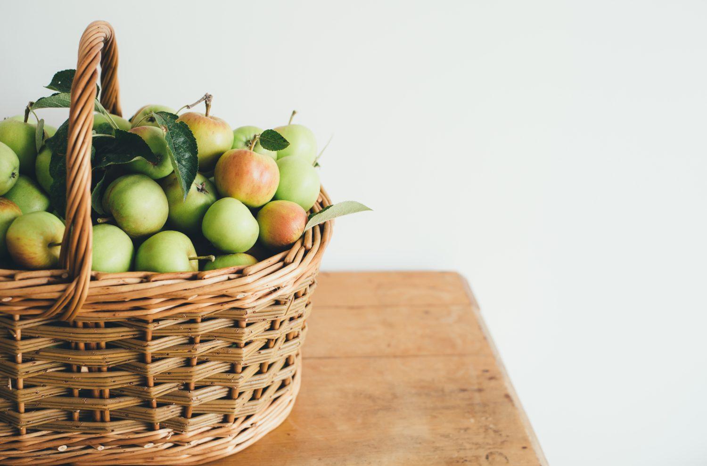 winterlicher Apfelsmoothie