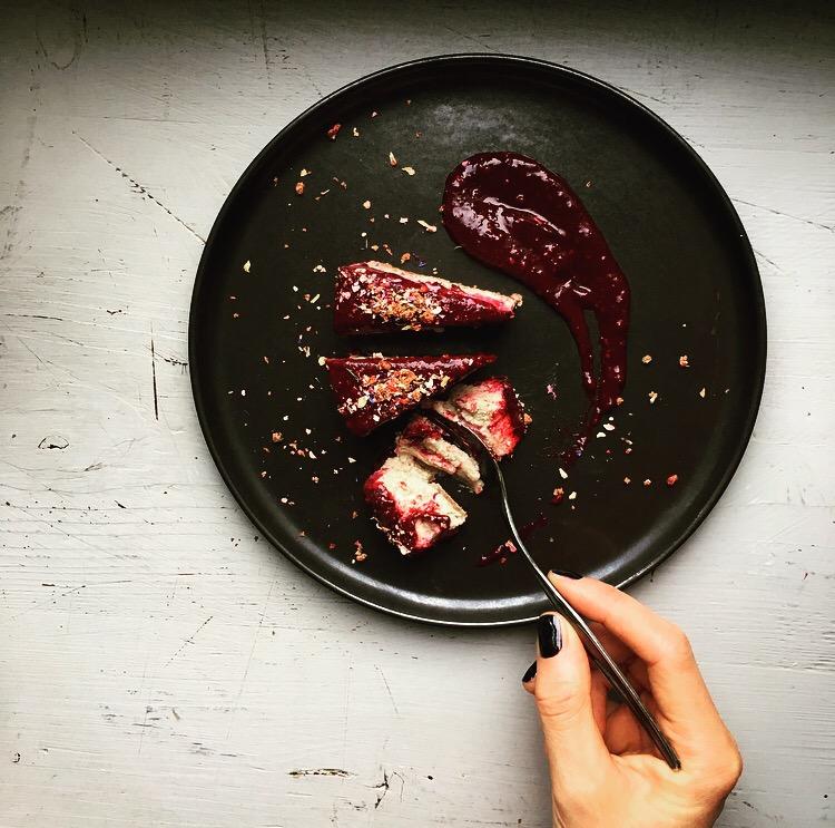 Erdmandel Cheesecake