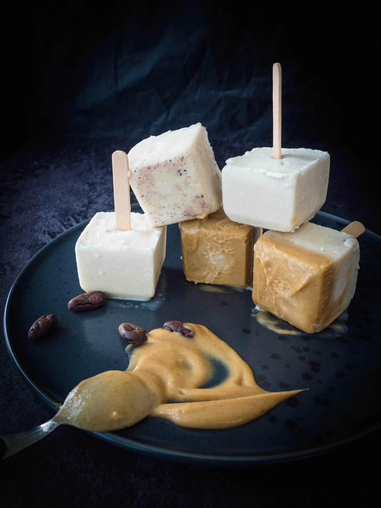 Kokos Kardamom Ice Cream Pops