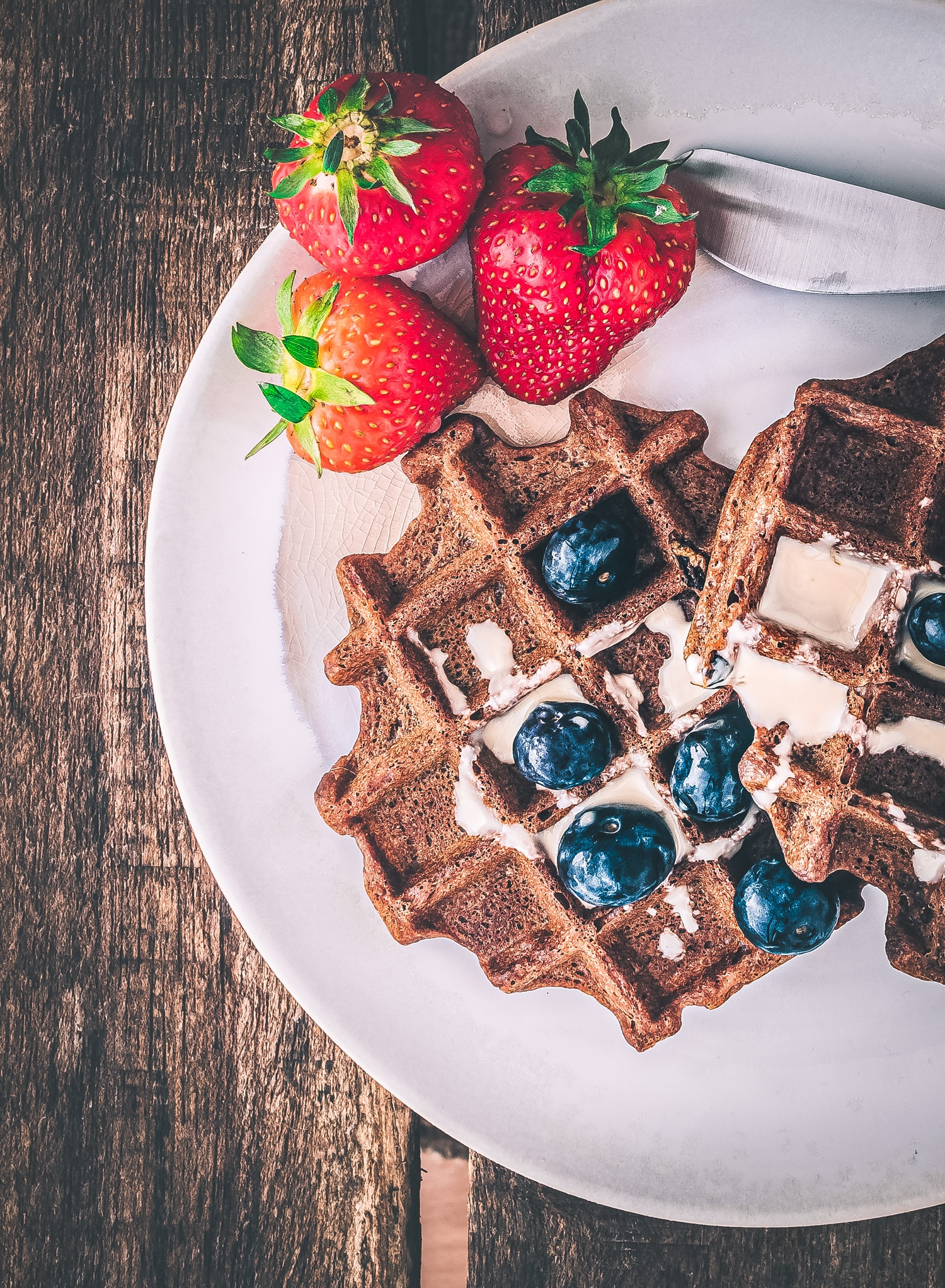 5 Frühstücksideen : Teffwaffeln