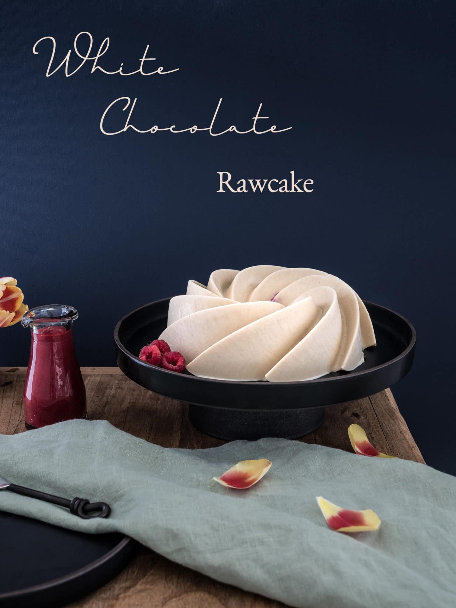 White Chocolate Rawcake