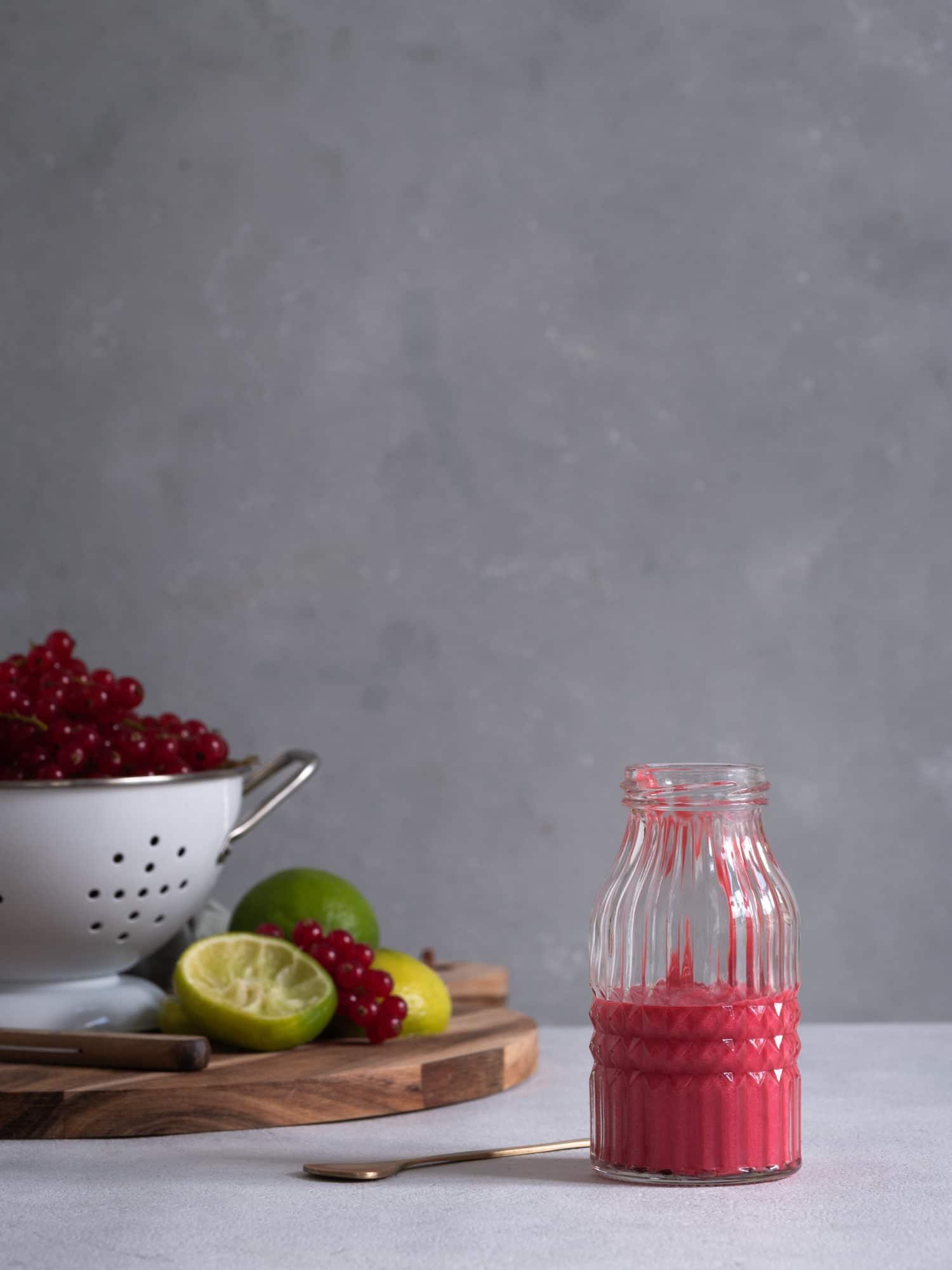 Fruchtpüree zum Limonade selber machen