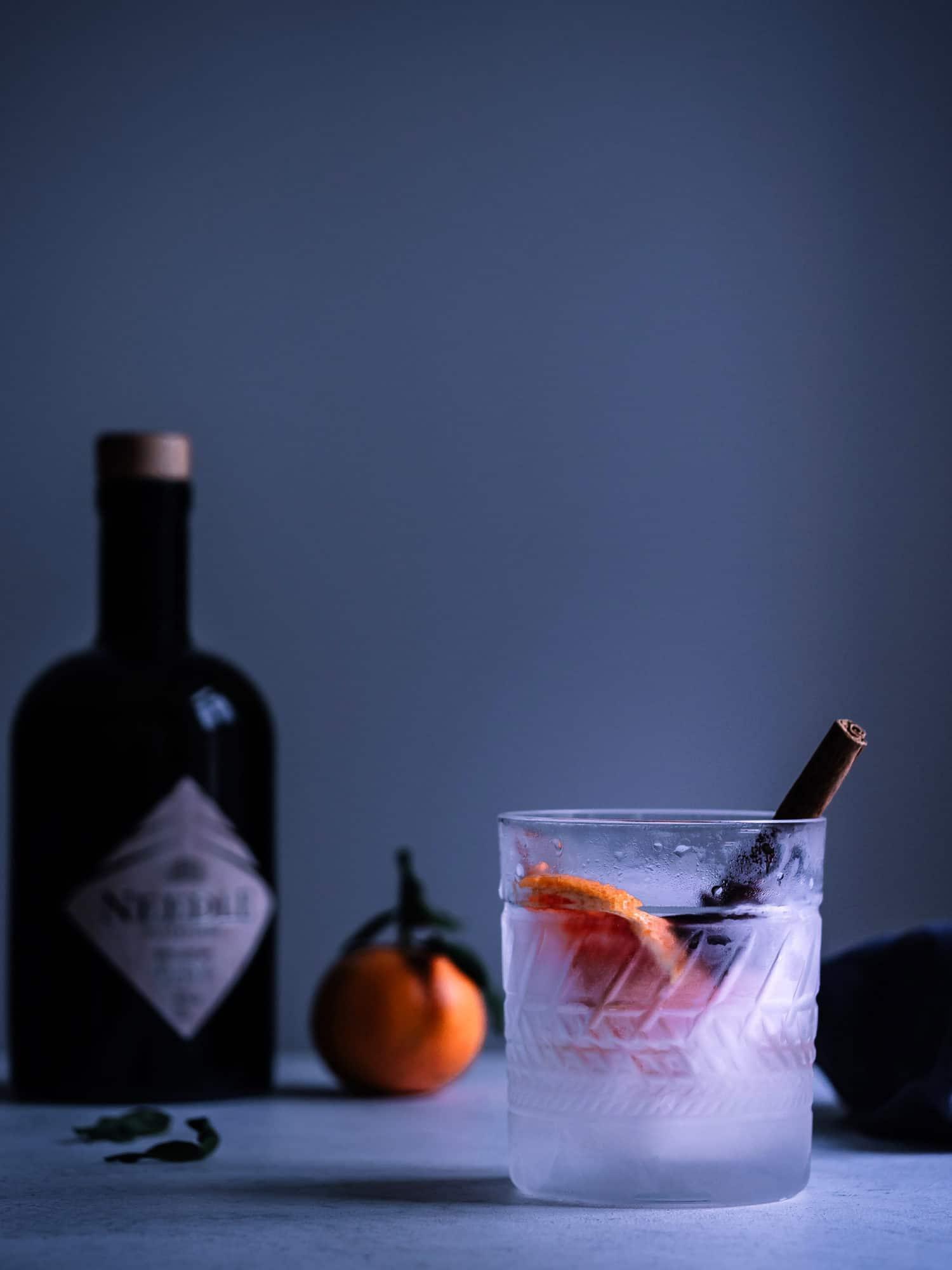 Gin Tonic, ein wundervolles Rezept für Herbst, Winter und die Feiertage. #weihnachten #cocktails #happymoodfood #longdrink