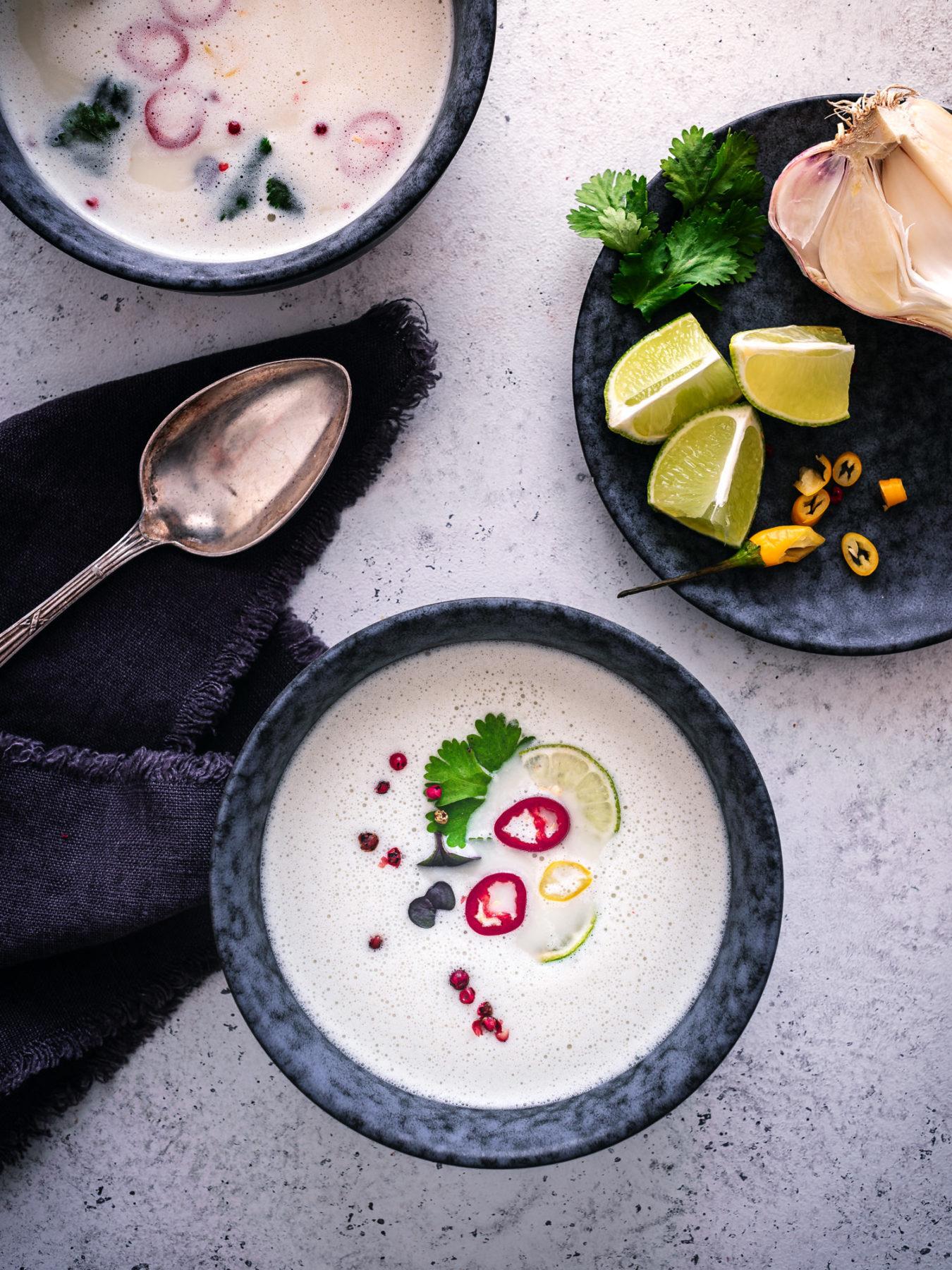 Thai suppe 2 Portionen