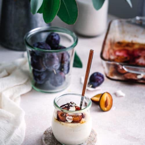 Mandelpudding, ein gesundes Rezept