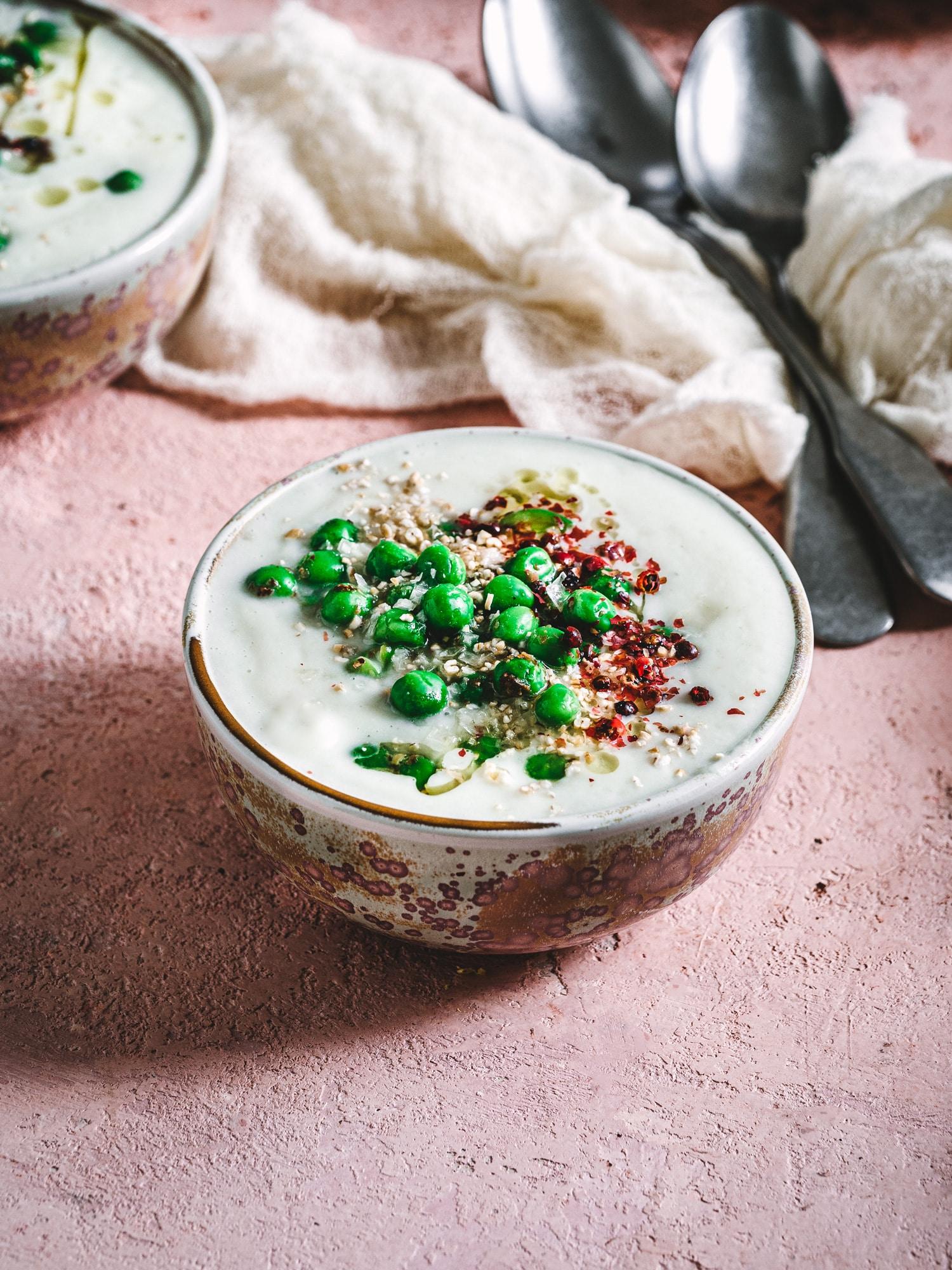 Blumenkohlsuppe vegan und einfach köstlich.