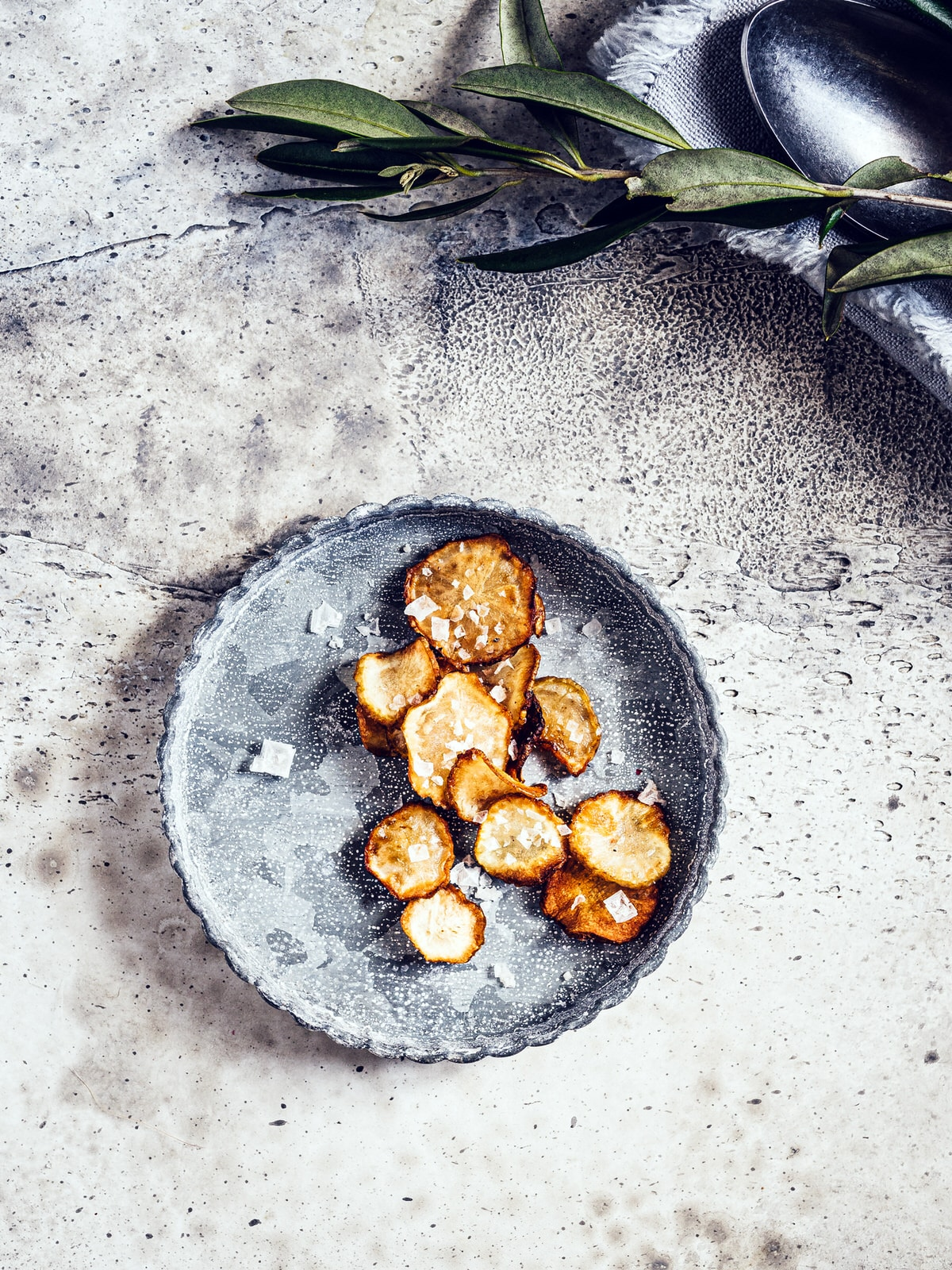 Topinambur Chips. Gesunder Snack von happymoodfood.com